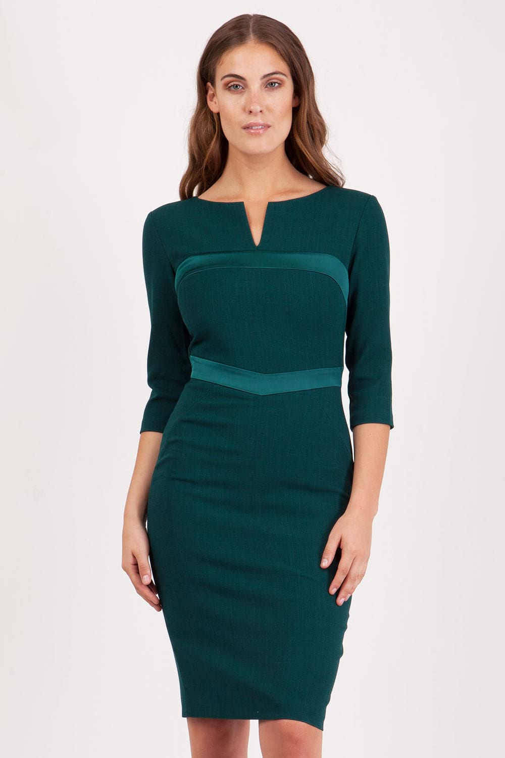 Hybrid Fashion 1083 Yvonne 3/4 Sleeve Pencil Dress