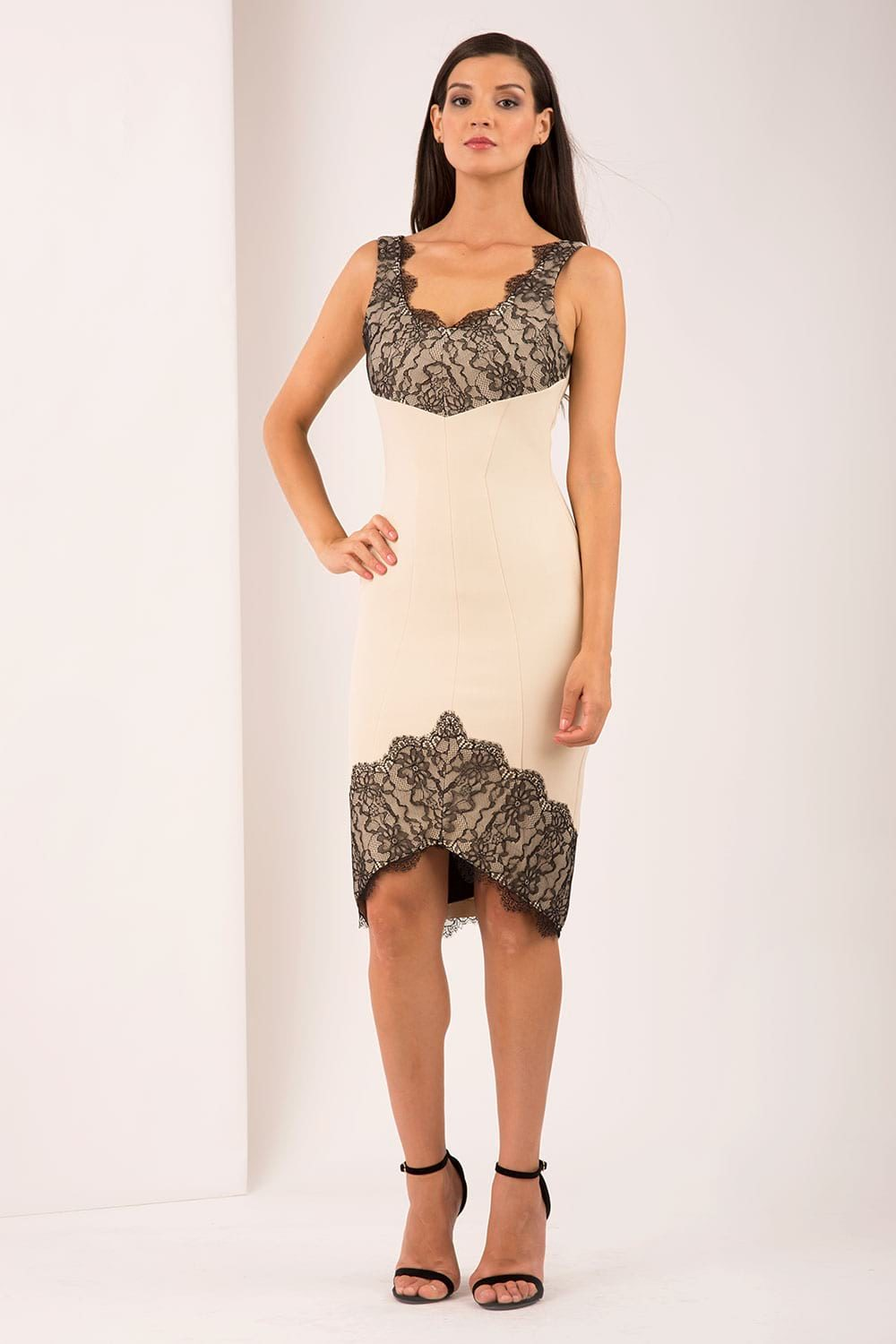 Hybrid Fashion 1208 Willow Lace Pencil Dress