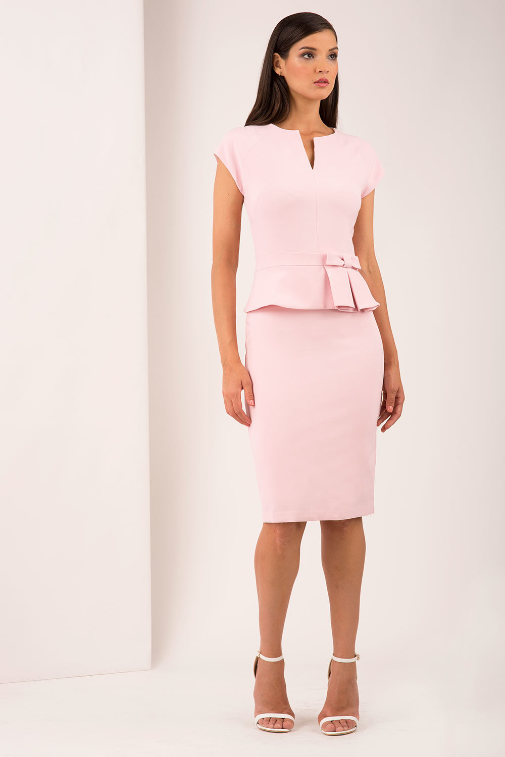 Hybrid Fashion 1268 Helena Peplum Pencil Dress