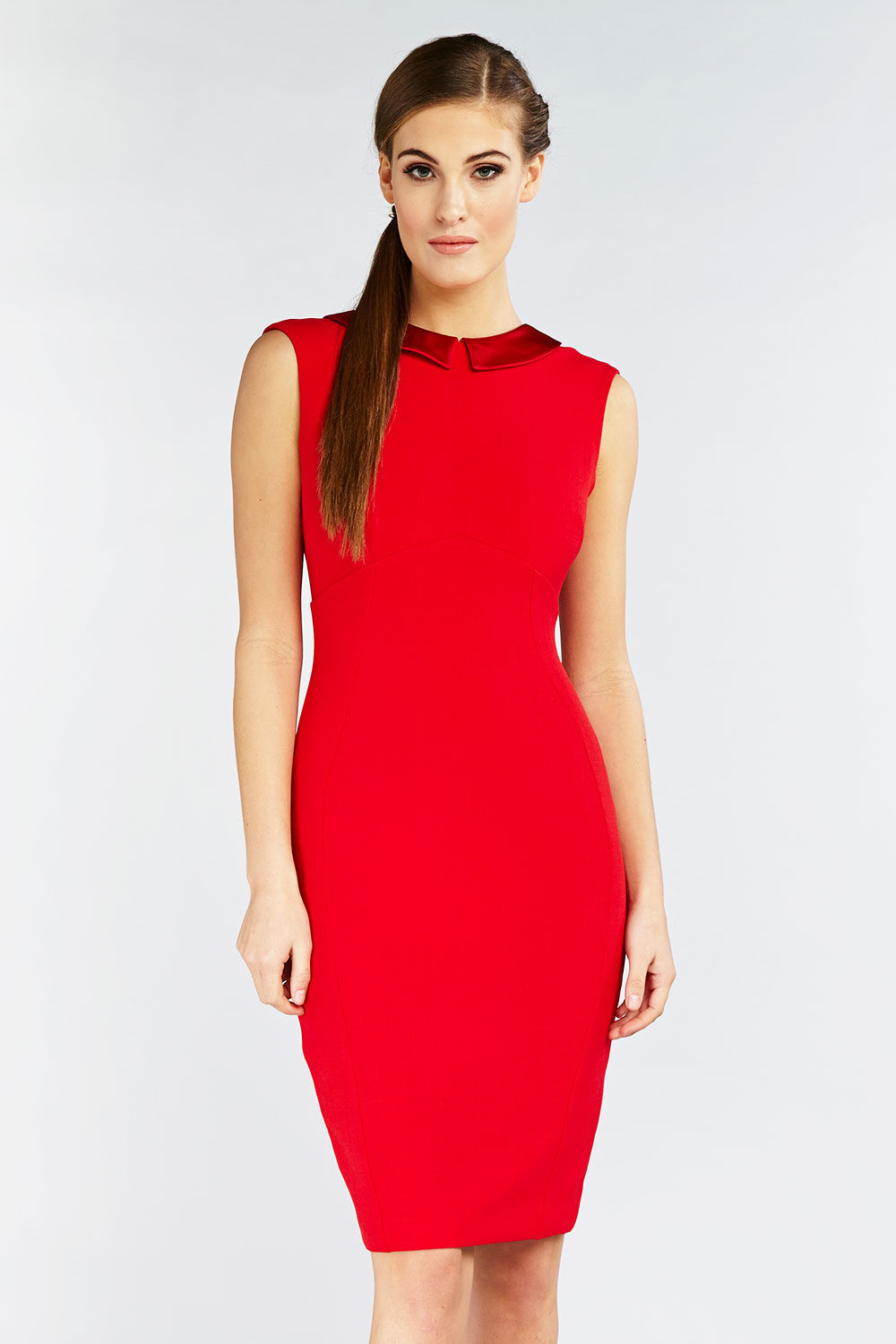 Hybrid Fashion Abigail 1097 Low Back Pencil Dress