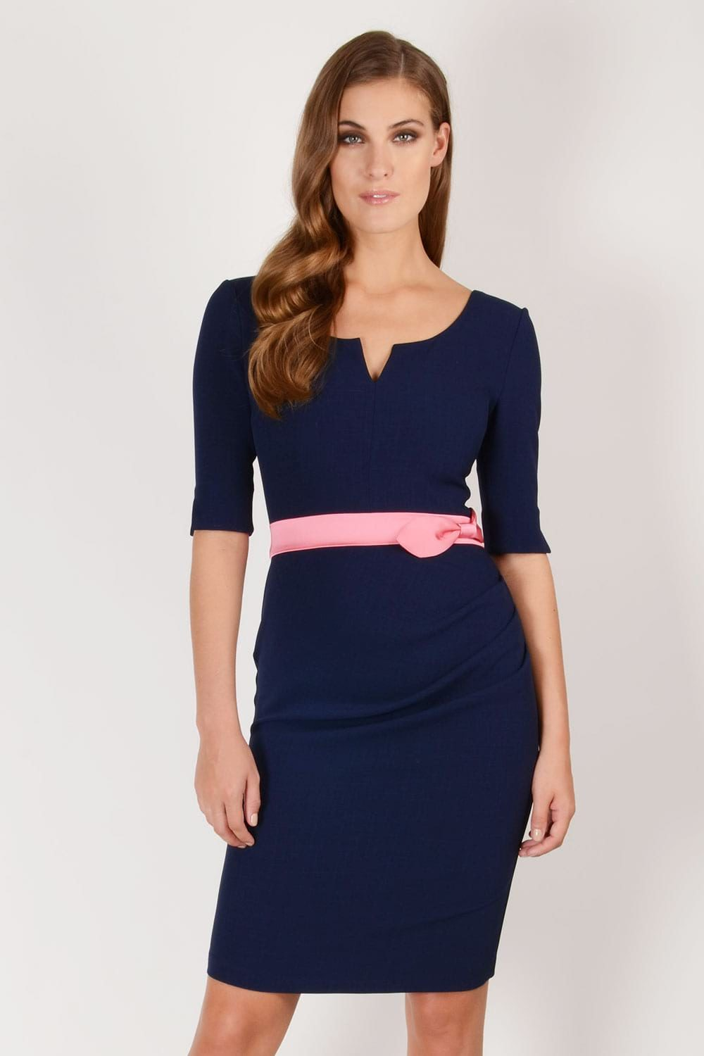 Hybrid Fashion 1218N Lilith Sleeved Pencil Dress