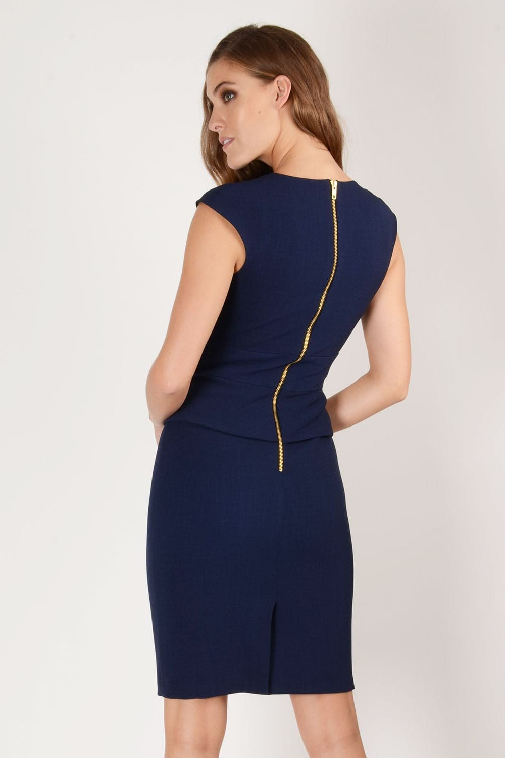 Hybrid Fashion 1240 Elsa Tie Detail Pencil Dress