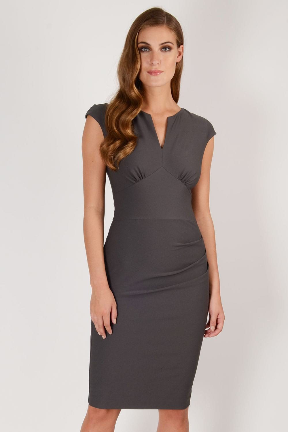 Hybrid Fashion 1241 Felicity Cap Sleeve Pencil Dress