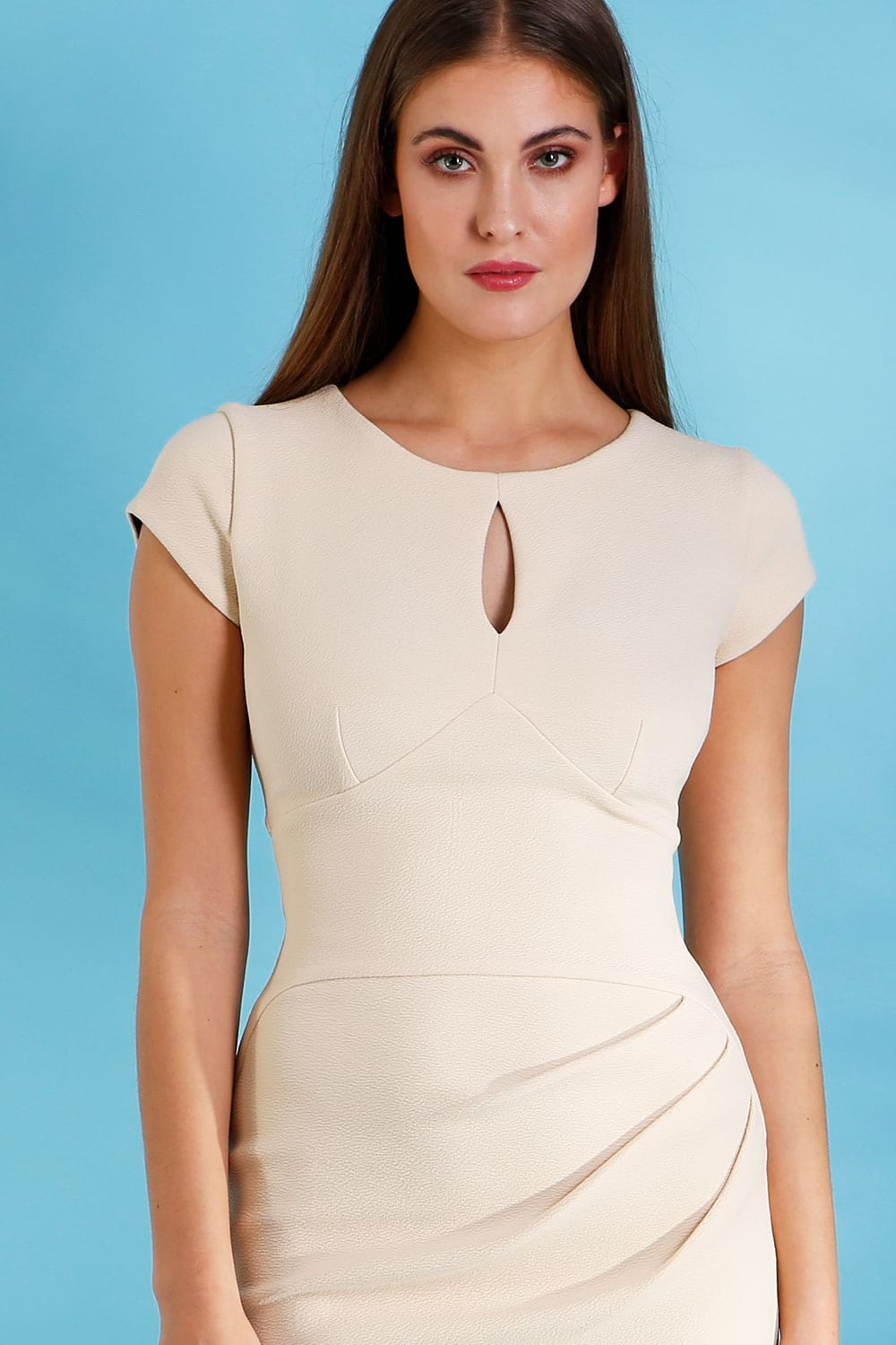 Hybrid Fashion 1277 Coco Keyhole Pencil Dress